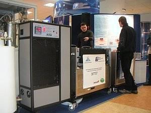 Российские ученые представили разработки в области водородной энергетики