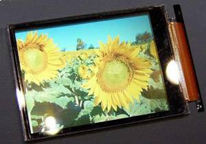 Разработан VGA-дисплей для мобильных телефонов