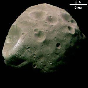 Исследователи ЕКА составили картину движения тени Фобоса по поверхности Марса