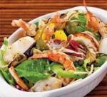 Рецепт морского салата со спагетти
