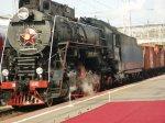 В Ростове в честь 155-летия железной дороги прошел парад железнодорожной техники