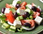 Рецепт классического греческого салата (Horiatiki)
