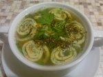 Рецепт супа с блинной лапшой (Minestra di frittata)