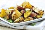 Рецепт жареного картофеля с оливками и лимоном по-мароккански