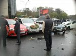 В аварии на Театральной площади в Ростове пострадало 6 человек