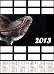 Ежегодный календарь на 2013 год от КАЛИТВА.РУ