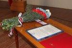 В Грушево-Дубовском сельском поселении приведен к присяге избранный глава С.Л. Сягайло