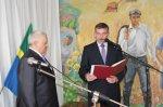 Глава Нижнепоповского сельского поселения вступил в должность