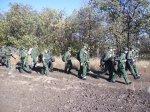 Пеший поход кадетов на Богураев