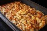 Новогодний рецепт: картофельной запеканка с мясом и грибами