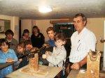 1 ноября с ответным визитом  Социально-Реабилитационный центр для несовершеннолетних, посетил Председатель Местного отделения ДОСААФ России А.И. Золотарев