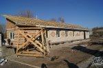 В хуторе Головка полным ходом идет капитальный ремонт фельдшерско-акушерского пункта