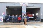 В селе Сандата Сальского района, открылась новая пожарная часть