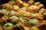 Рецепт куриных шариков в сливочном соусе