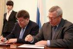 Губернатор Василий Голубев и руководитель Федерального агентства лесного хозяйства Виктор Масляков подписали соглашение о взаимодействии