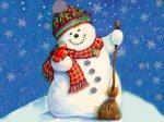 Новогодняя песня: Песенка снеговика