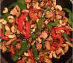Новогодний рецепт: Курица с имбирем и кешью