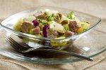 Рецепт картофельного салата с травами и анчоусами