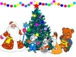 Новогодние игры для детей 2013