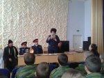 Совет стариков и казаки Усть-Белокалитвинского юрта проводят встречи в казачьих образовательных учреждениях