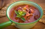 Рецепт фасолевого супа с чили