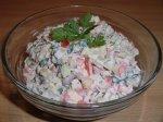 Новогодний рецепт: Салат с фасолью и болгарским  перцем