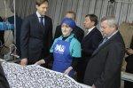 Губернатор Василий Голубев посетил Донецкую мануфактуру