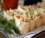 Новогодний рецепт: Рулет из семги и сыра