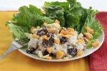 Новогодний рецепт: Салат из индейки с грушей и курагой