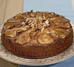 Новогодний рецепт: Пирог грушовый с грецким орехом