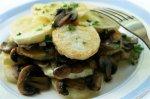 Новогодний рецепт: Картофель тушеный,со свежими грибами