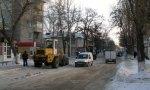 Белокалитвинские дорожники сработали на совесть и убрали снег с дорог