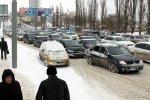 Пробки в Ростове-на-Дону принимают угрожающие размеры