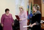 Глава белокалитвинского поздравила работников отдела ЗАГС с 95-летним юбилеем