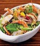 Рецепт морской салат со спагетти