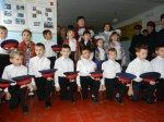 Праздник в Ленинской школе: прием в казачата