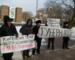 Жители Зверево  приехали в Ростов-на-Дону, чтобы протестовать против завышеных тарифов на ЖКХ