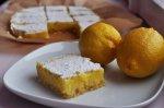 Рецепт лимонных пирожных
