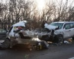 Авария на трассе М4 Дон с участием Toyota Corolla и Nissan X-Trail  унесла две жизни
