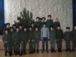 Юные кадеты встретились с выпускником кадетского корпуса