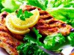 Рецепт куриной грудки в соевом соусе с лаймом и зеленым салатом