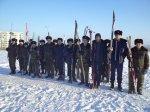 Кадеты провели акцию: «70 донских километров посвящённые 70-летию освобождения города Белая Калитва от фашистских захватчиков и Победе под Сталинградом»