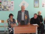 В средней школе № 5 дети встретились с ветераном Великой Отечественной войны