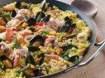 Рецепт паэльи с кальмарами