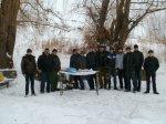 Курсанты Белокалитвинского УСТК РО ДОСААФ России РО совершили 100-километровый марш на КАМАЗах