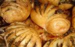 Рецепт картошки-гармошки с грибной начинкой