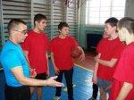 Школьные соревнования по баскетболу в зачет спартакиады
