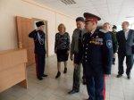 Заместитель командующего южного военного округа посетил кадетский корпус