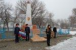 В поселке Коксовом состоялся митинг в честь освобождения территории от фашистов в годы Великой Отечественной войны