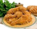 Рецепт хрустящих куриных бедрышек